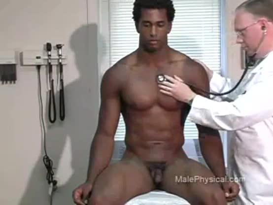 Straight muscle asian hunk get physical exam gay both studs were being