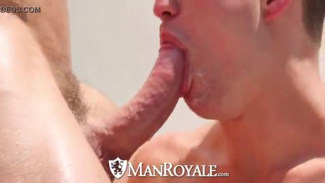 Gay bubble man fucked by monster dick and